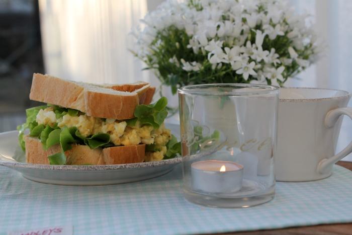 Potet Salat Sandwich