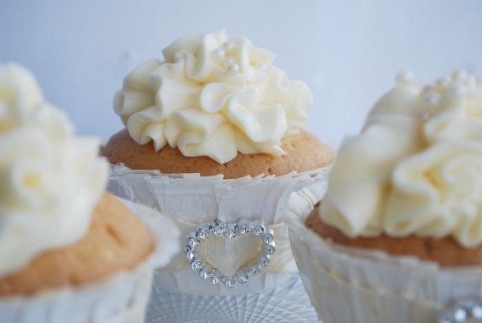 Simple White Lemon Cupcakes | Passion 4 baking