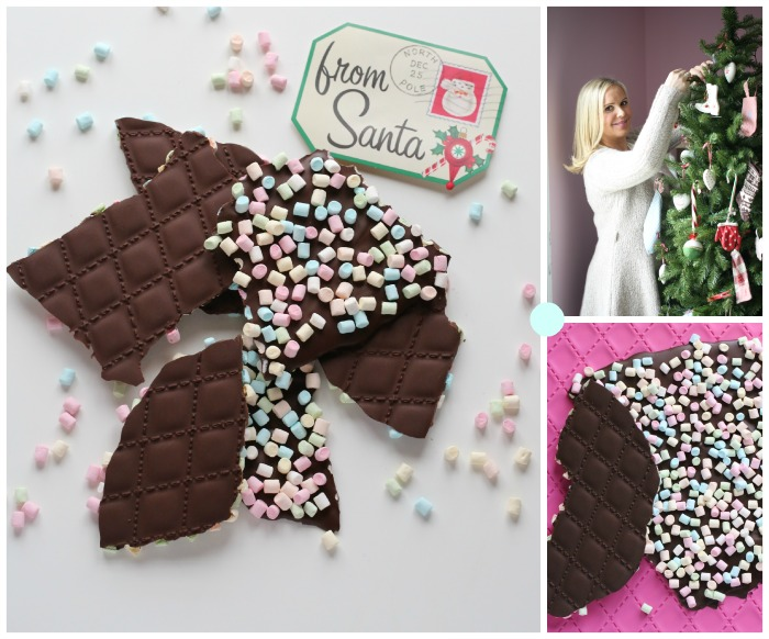 Mønstrede sjokoladeplater