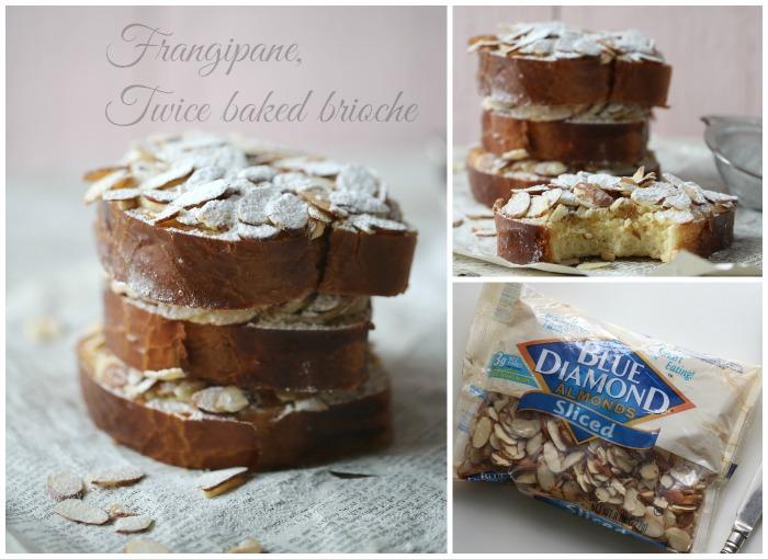Frangipane twice baked brioche