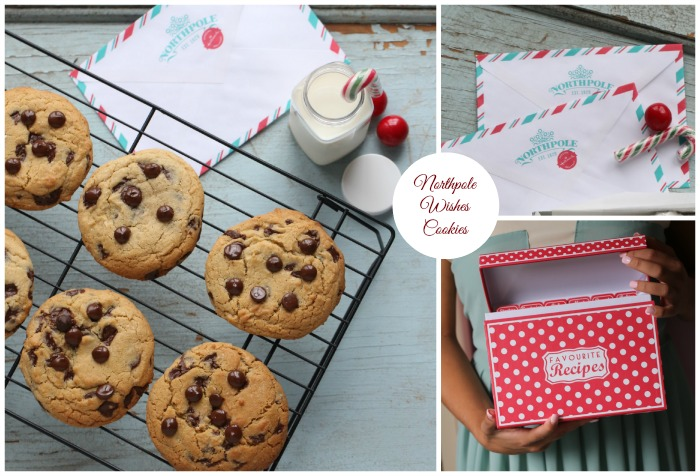 North Pole Wishes Cookies – Chocolate Chip Cookies