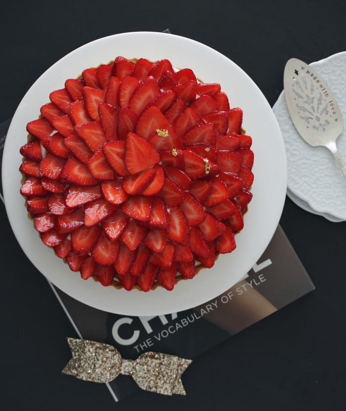 Jordbær- og vaniljeterte