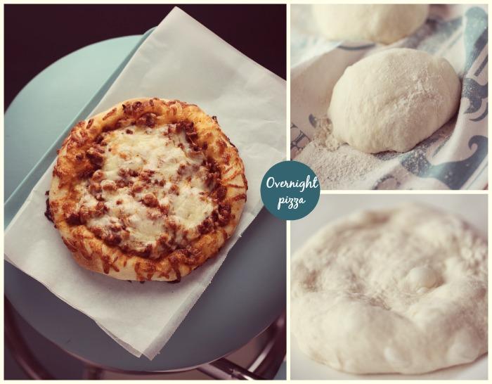 Eltefri pizzadeig / pizza bolognese