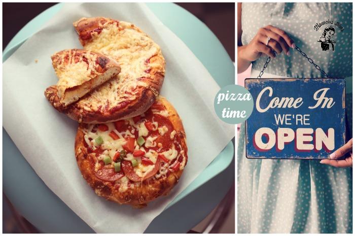 Manuelas Diner pepperoni pizza
