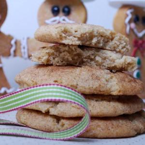 Fat Fluffy Gingerbread Cookies ( pepperkaker kjeks)