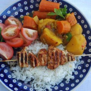 En enkel indonesisk middags-rett