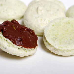 Pistage macarons