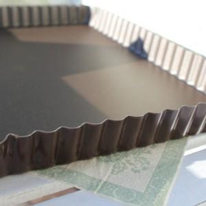 Paiform med løs botten 29cm x 20 cm
