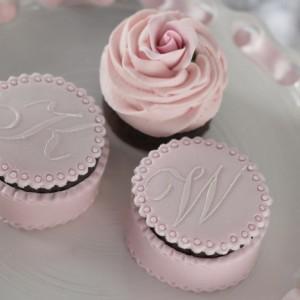 wedding style brownies
