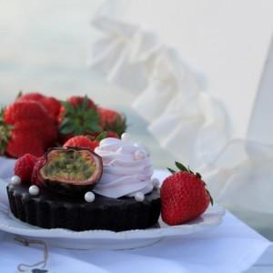 Oreo Chocolate Truffle Tart with Chocolate Glaze
