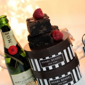Champagne Brownies