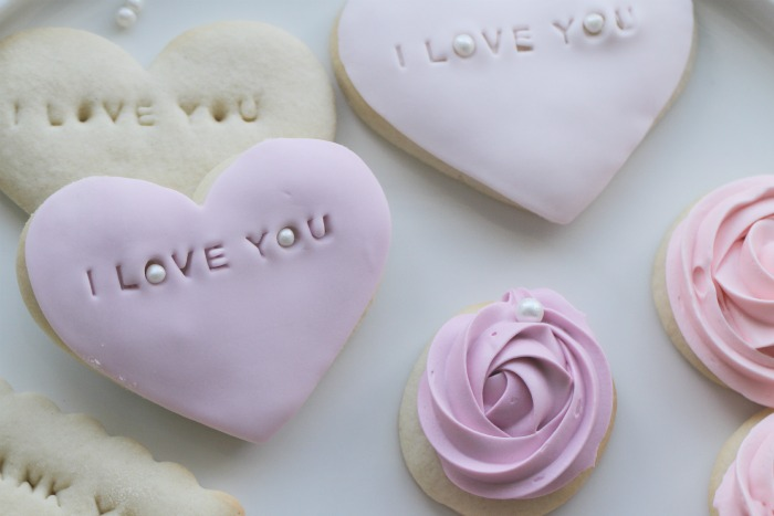 "Soft Sugar ""I Love You"" Cookies"