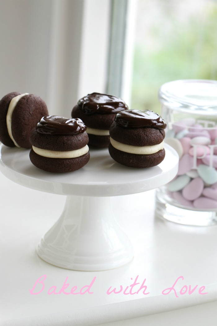 Peppermint Patty Whoopies