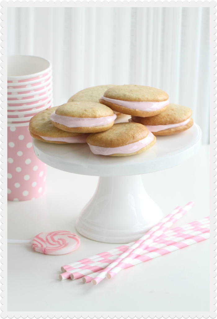 Raspberry Marshmallow Honey Cookies
