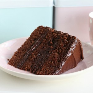 Delicious Dark Chocolate Cake