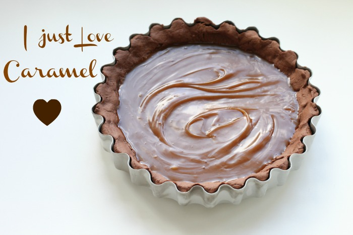 Dark Chocolate Caramel Tart