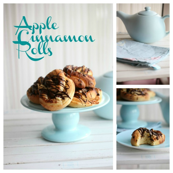 Delicious Apple Cinnamon Rolls