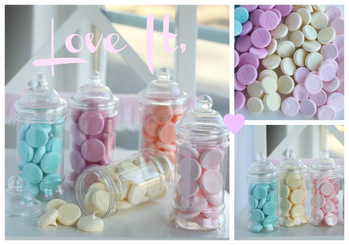 Lovely Pastel Meringue Buttons
