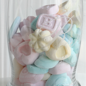 pastel homemade marshmallows