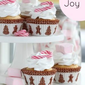 Christmas Joy Cupcakes