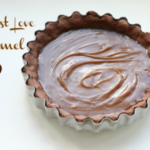 Dark Chocolate Caramel Tart