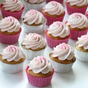 sweet vanilla cupcakes raspberry vanilla cream cheese frosting