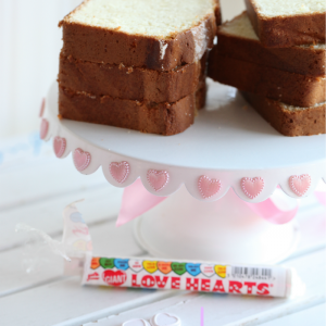lovely vanilla pound cake