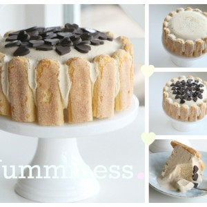 coffee ice cream cake