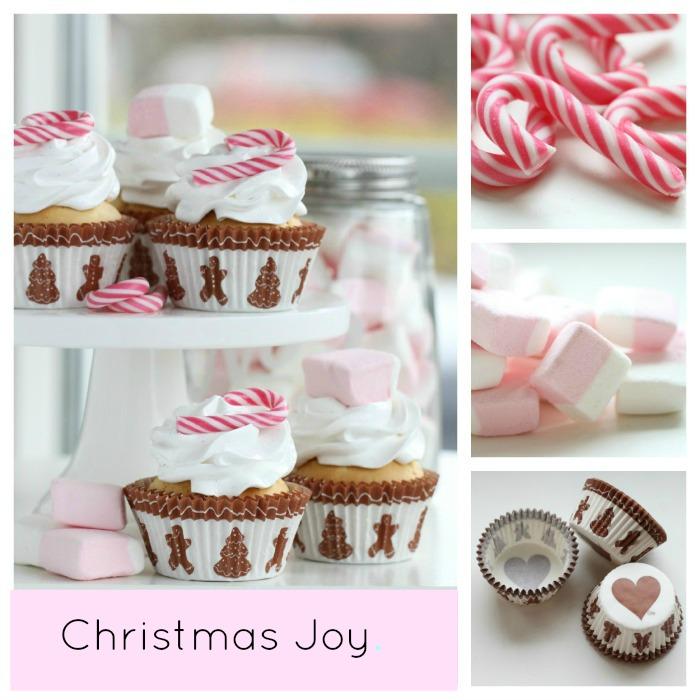 Christmas Joy Cupcake