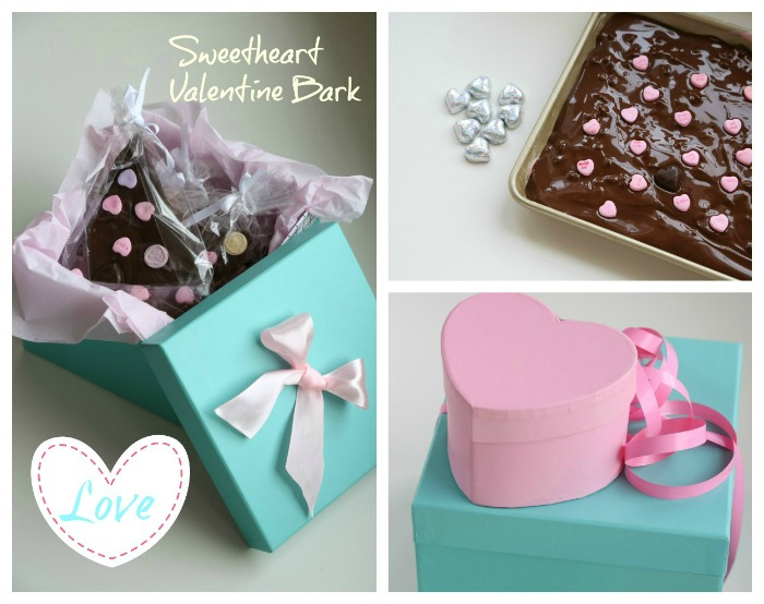 Sweetheart Valentine bark