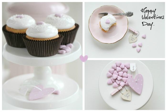 Very Vanilla Cupcakes Valentine Style