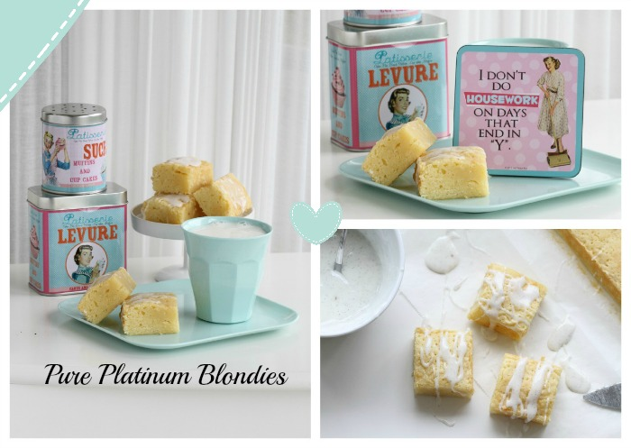Pure Platinum Blondies