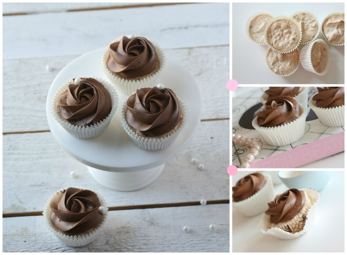Almond & Chocolate Cupcakes
