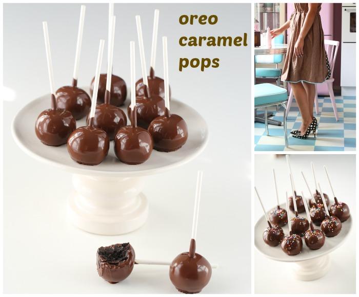 Oreo & Caramel pops