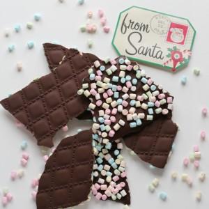 Mønstrete sjokoladeplater