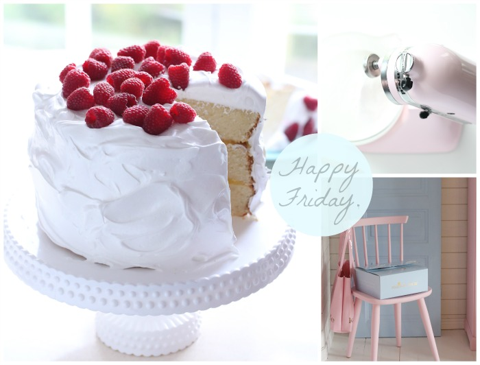 Lemon and Raspberry White Cake