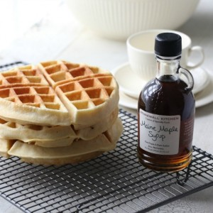 Waffles made with love