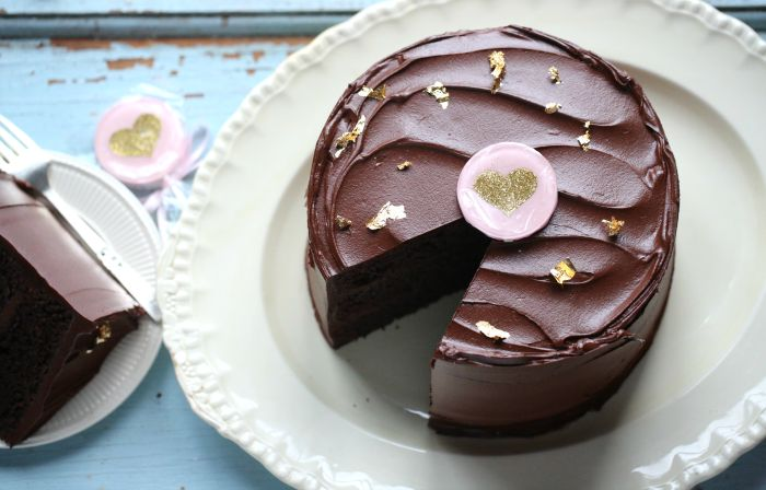Simply Chocolate Cake
