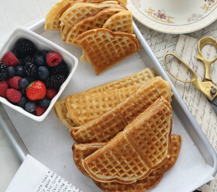 Norwegian waffles – Passion 4 baking