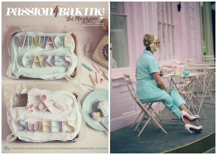 Passion4baking The Magazine – Vintage Cakes & Sweets Issue 02, spring 2016