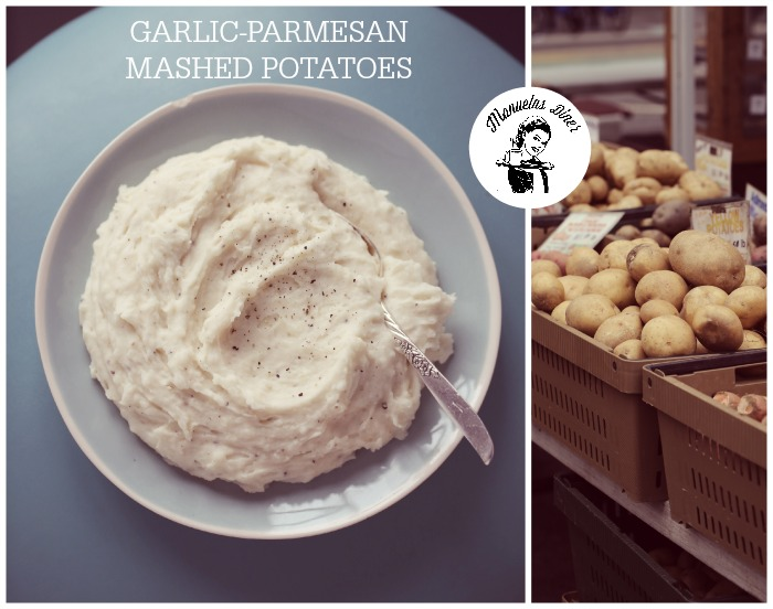 Garlic & Parmesan mashed potatoes