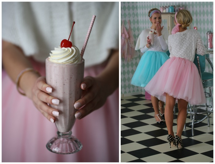 Classic Strawberry milkshake