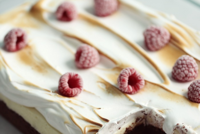 Fudge-lemon-Cheesecake