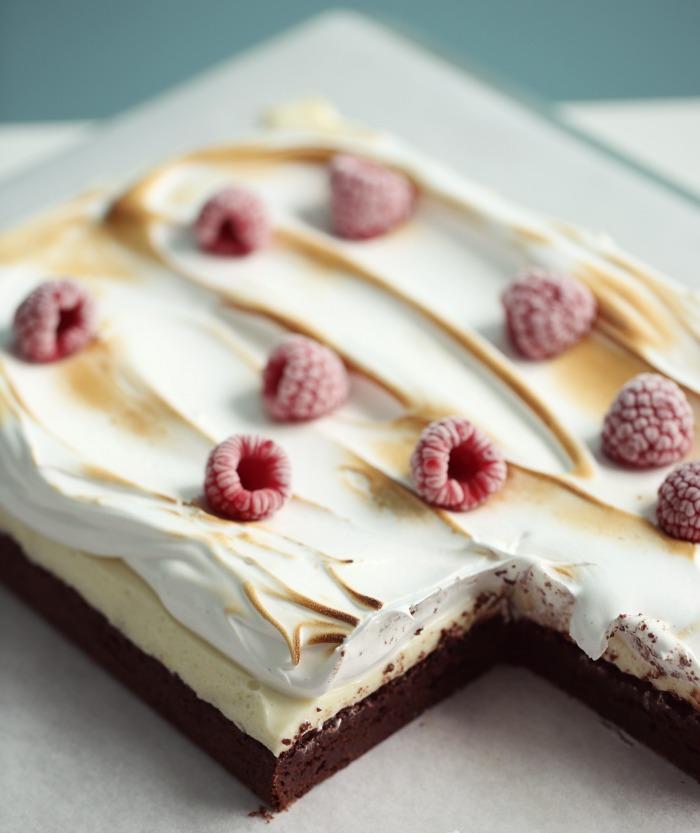 Brownies & Lemon Cheesecake