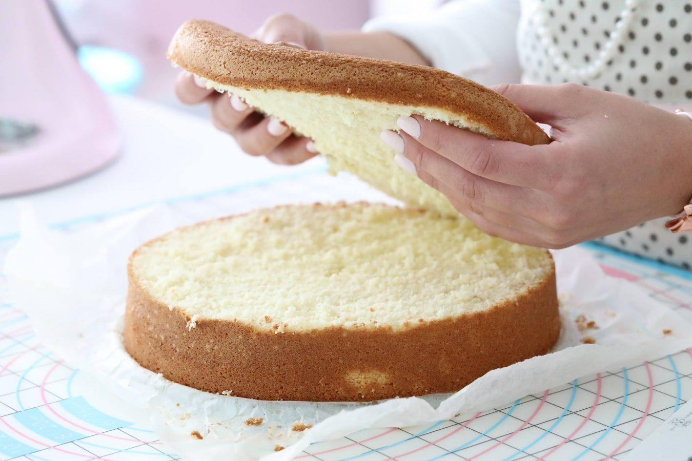 Vanilla Sponge Cake Joy Of Baking Without