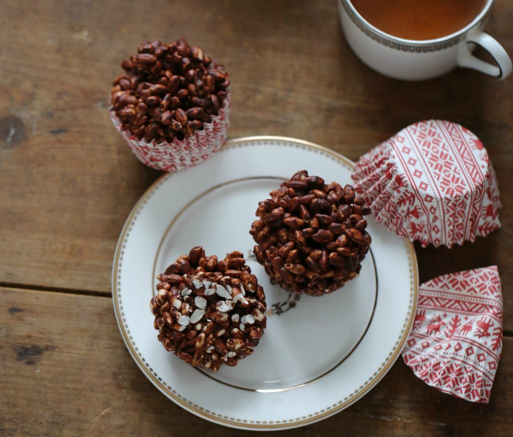 Puffed Rice Chocolate Treats Passion 4 Baking Get Inspired