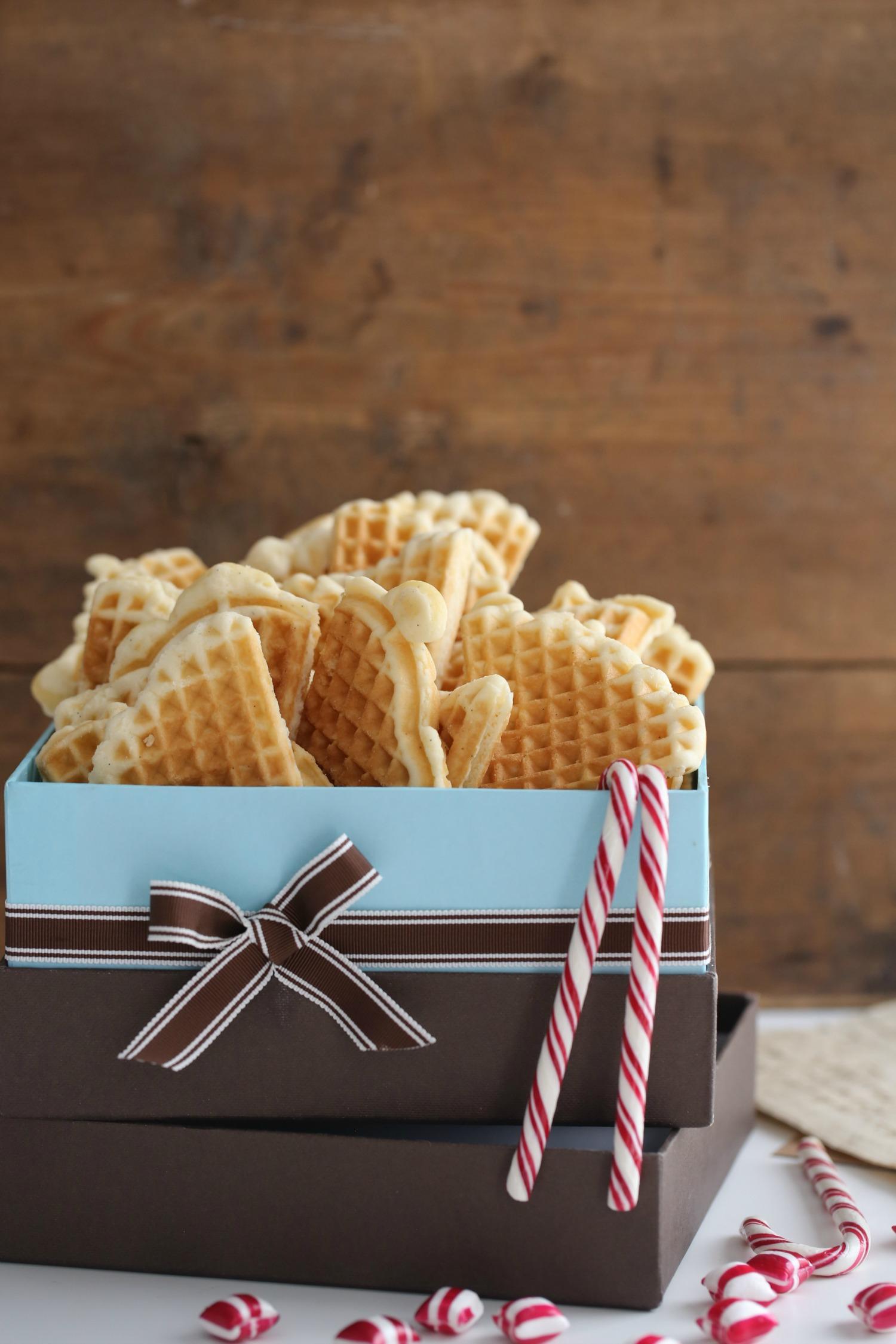 NORWEGIAN WAFFLE COOKIES - Passion 4 baking :::GET INSPIRED:::