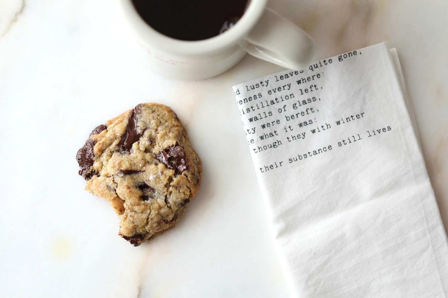 CHOCOLATE CHIP COOKIES WITH HOMEMADE CHOCOLATE CHIPS AND, WALNUTS ...