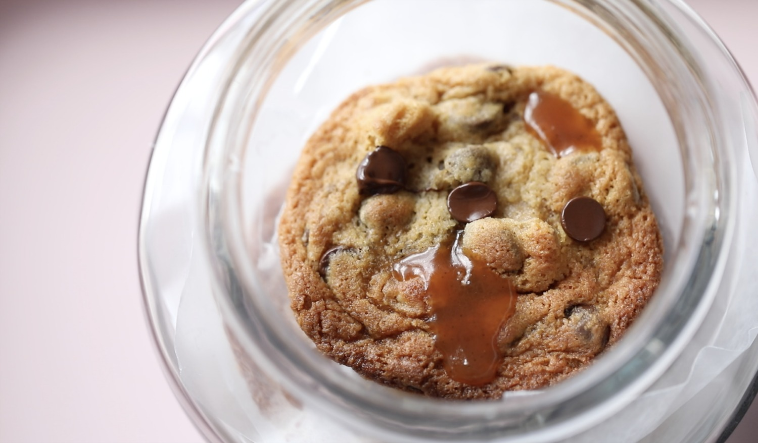Chocolate Chip Cookies With Caramel Candy Passion 4 Baking Get